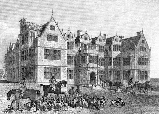 Pytchley Hunt, the Hall.